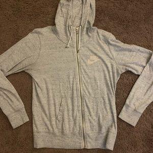 Gray Nike Zip jacket